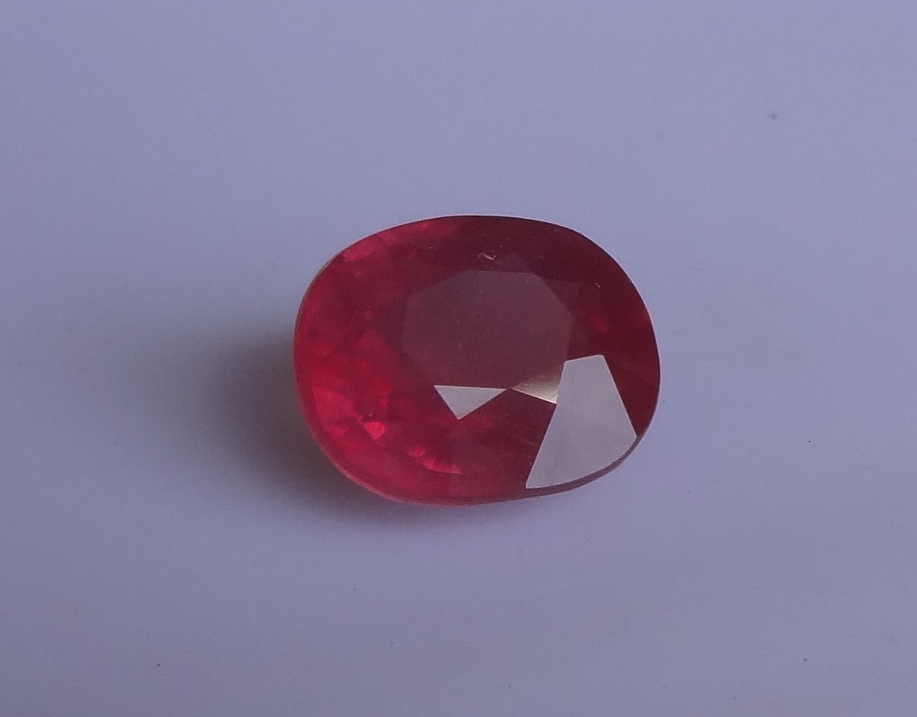 Cheap treated and heated Ruby.