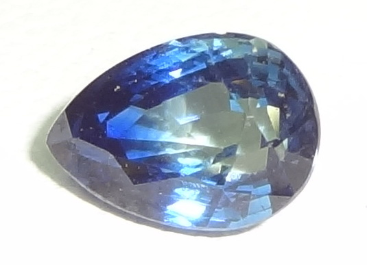 Fantastic clean and shiny royal blue Sapphire.
