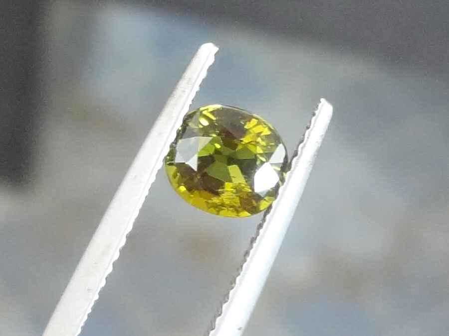 Affordable olive green Tourmaline at a discounted price